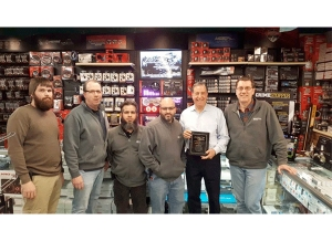 2018 MESA Dealer of the Year Award from Race Sport Lighting