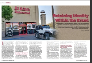 December Issue Feature: Real World Retail - Al & Ed's, Ontario, CA