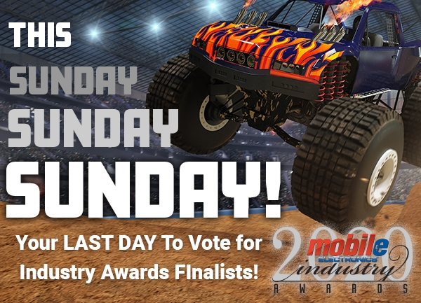 This Sunday is the Last Day to VOTE to Determine the Industry Awards Finalists!