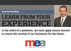 ME-Mag Editorial: From the President - Learn from your Experience