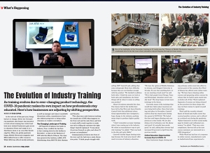Magazine Feature - The Evolution of Industry Training