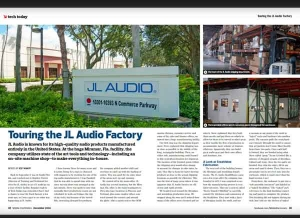 December Issue Feature: Touring the JL Audio Factory