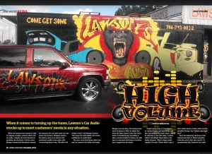 December Issue Feature: Lawson's Car Audio