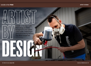 Installer of the Year Profile - Artist by Design