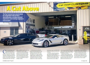 July Issue Feature: Real World Retail - Tip Top Customs