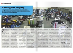 May Issue KnowledgeFest Feature: Bouncing Back To Spring