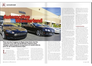 November Issue Feature: Real World Retail - Industry Auto Designs