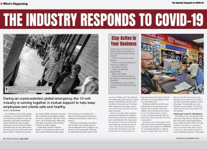 What's Happening - The Industry Responds to COVID-19 - April Issue Feature