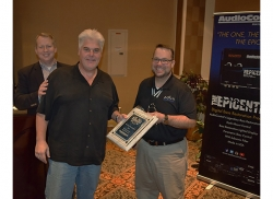 AudioControl Awards Rep of the Year Award, Mobile Audio To In Phase Marketing