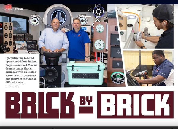 Magazine Feature - Empress Audio & Marine in Real World Retail