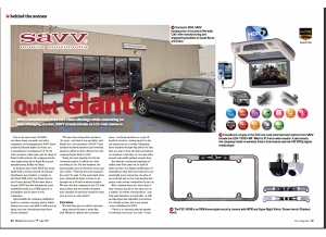 July Issue Feature: Behind the Scenes - SAVV
