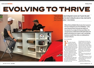 June Issue Feature - Real World Retail: Driven Mobile Electronics