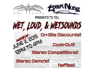 TeamNutz Hosts Wet, Loud and Wet Sounds