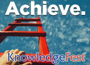 KnowledgeFest Set to Achieve