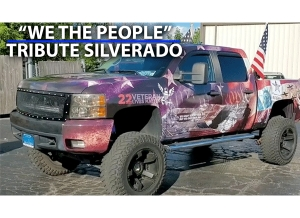 """We The People"" Tribute Silverado Build with Brian ""Gambler"" Rowe"