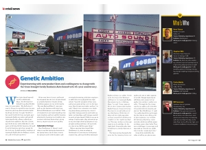 April Issue Retail News: Genetic Ambition - Auto Sound Celebrates 45 Years