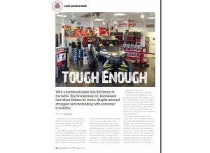 January Issue Feature: Real World Retail - Dr. Dashboard