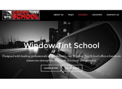 12-volt Duo Open Window Tinting School