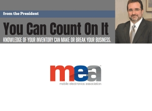 ME-Mag Editorial: From the President - You Can Count On It