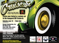DEI Announces Cruise-In Car Show
